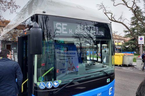 Autobús al Ramón y Cajal