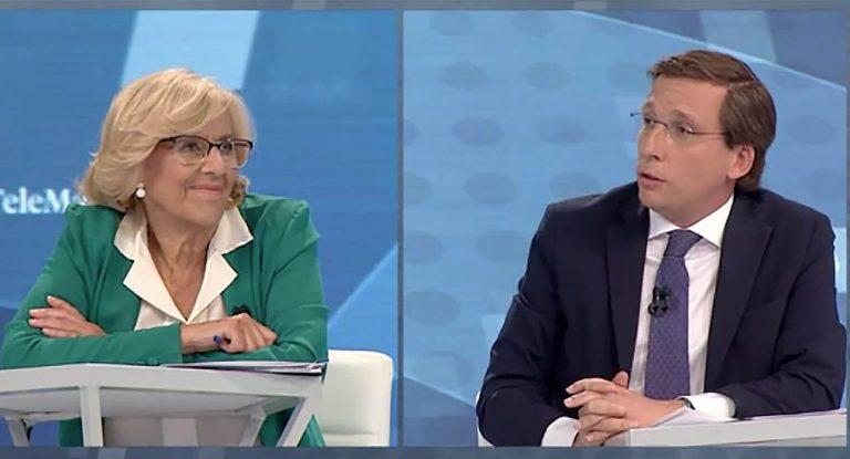 Manuela Carmena y José Luis Martínez-Almeida