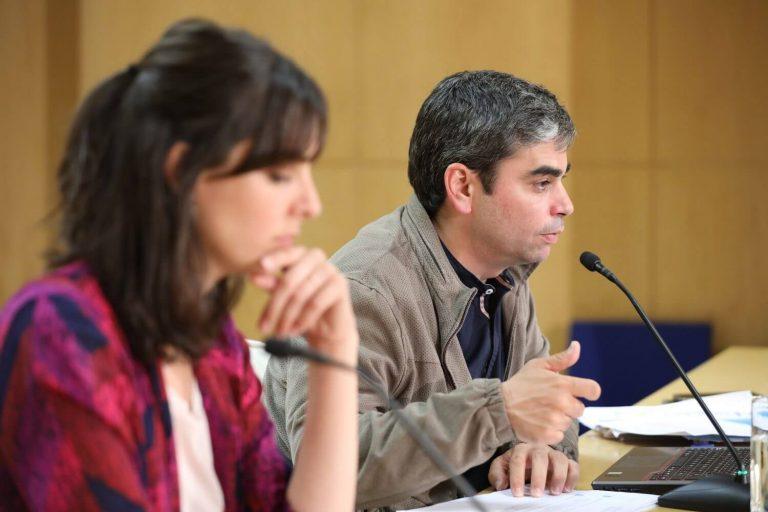 Jorge García Castaño y Rita Maestre