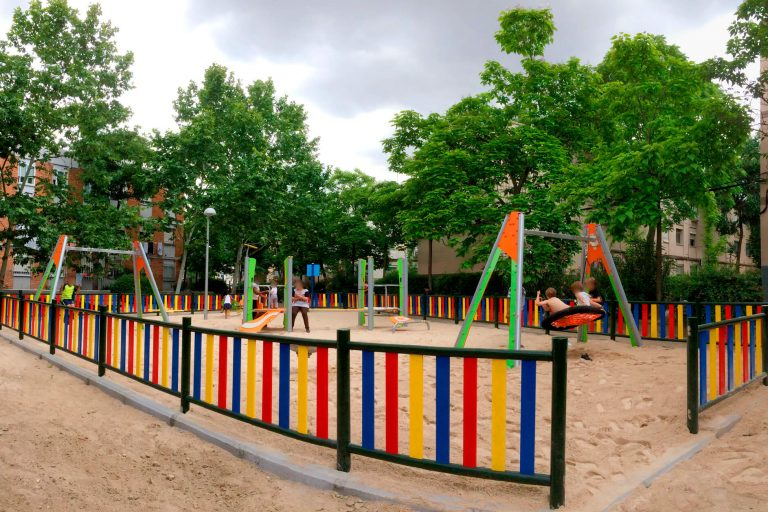 Parque infantil del barrio del Aeropuerto