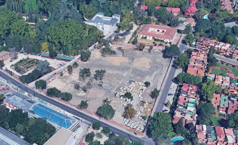 Entorno del Palacio de El Capricho