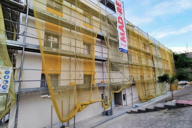Edificio en rehabilitación