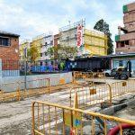 Obras de reurbanización y rehabilitación en el barrio del Aeropuerto