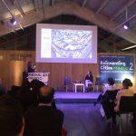 Silvia Villacañas presenta la parcela del barrio del Aeropuerto