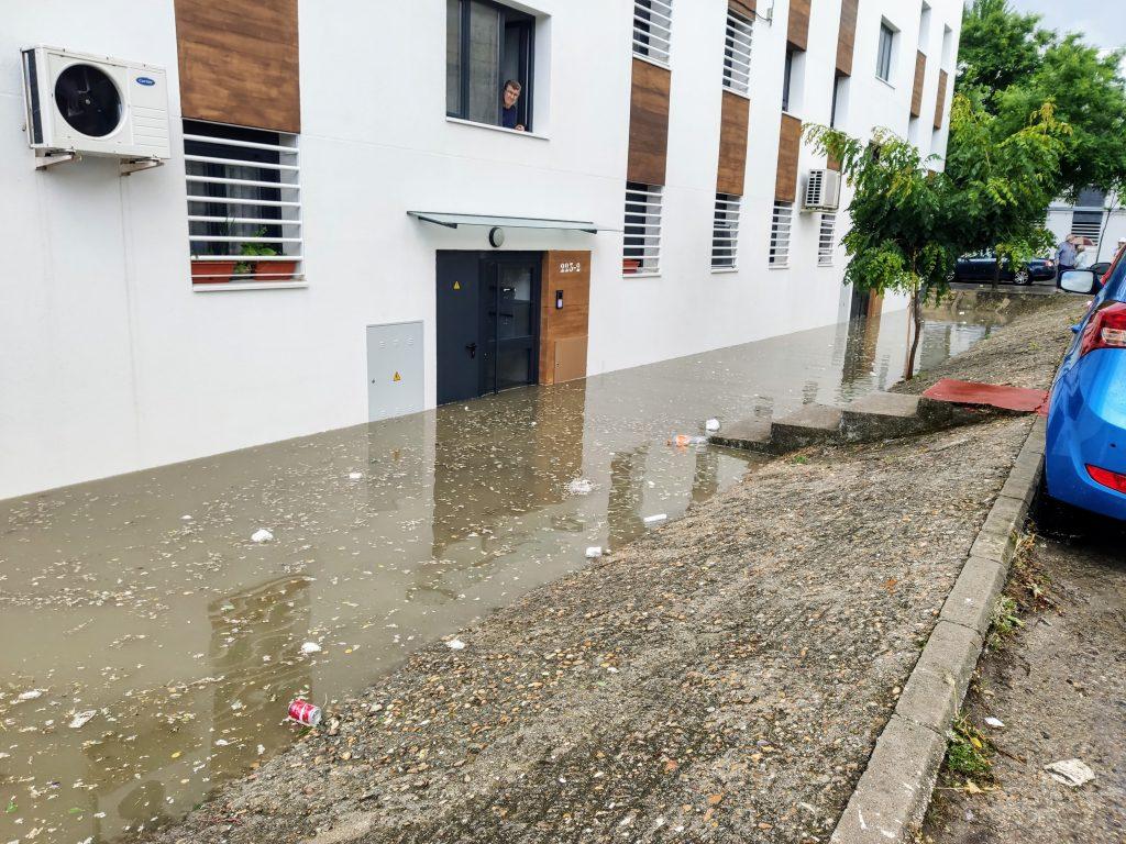 Inundación del bloque 223