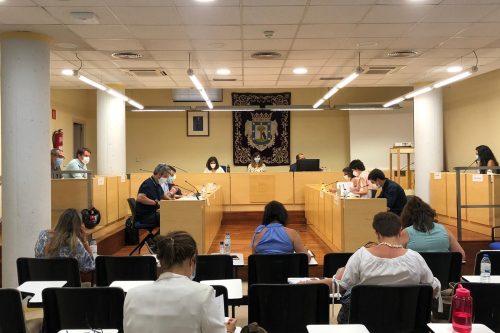 Pleno de julio del distrito de Barajas