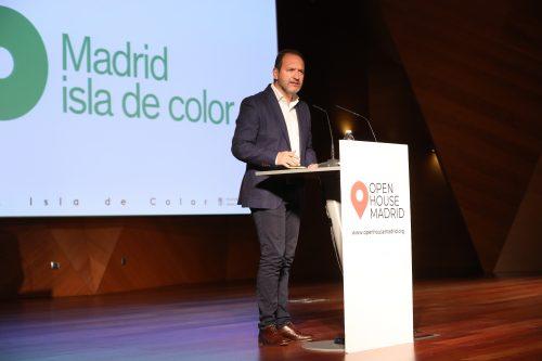 Mariano Fuentes presenta 'Madrid Isla de Color'