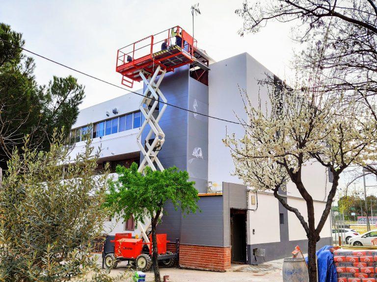 Rehabilitación de un edificio en el barrio del Aeropuerto