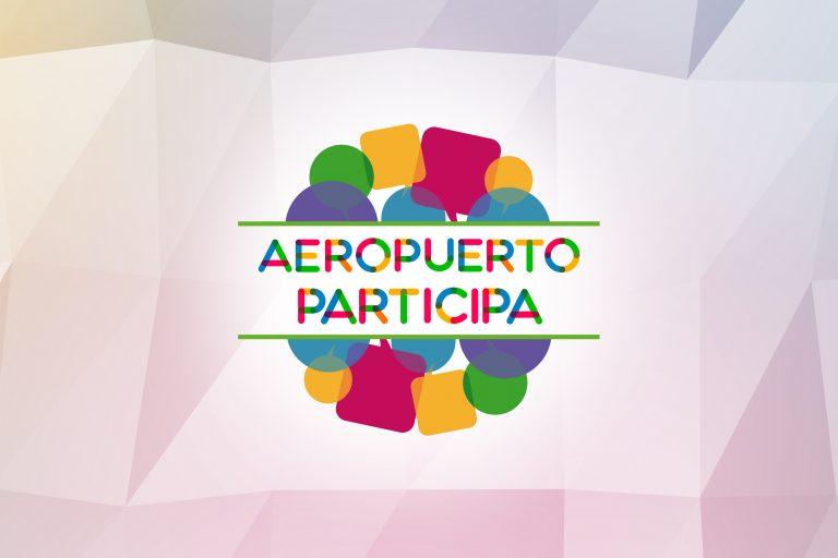 Logotipo de Aeropuerto Participa