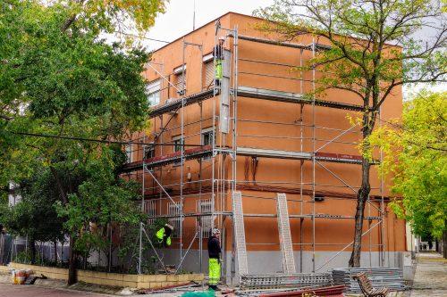 Rehabilitación del bloque 133 de la calle Frías