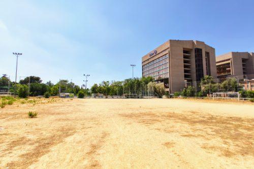 Instalación deportiva del barrio del Aeropuerto